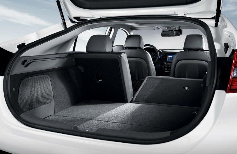 rear interior of a 2019 Hyundai Ionic Plug-In Hybrid