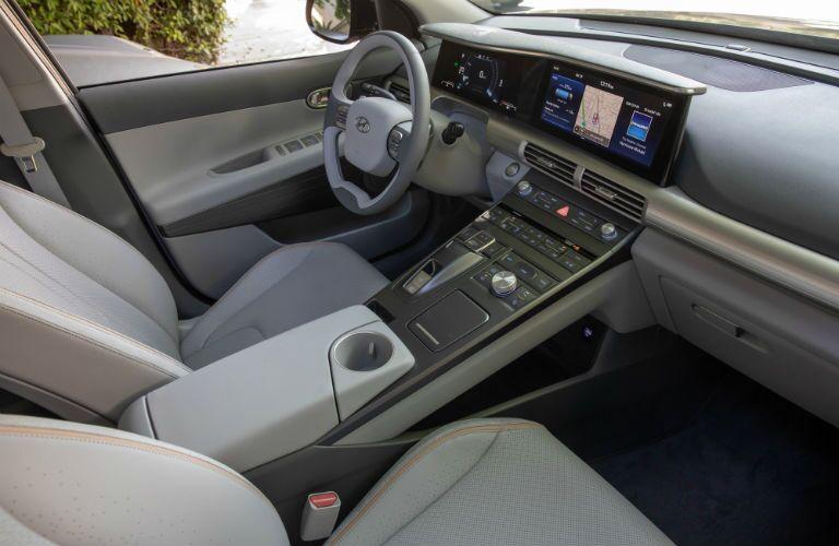 front interior of a 2019 Hyundai Nexo