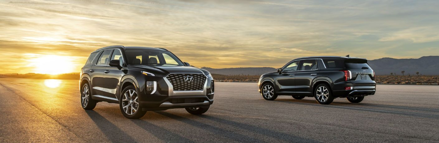 two black 2020 Hyundai Palisade models