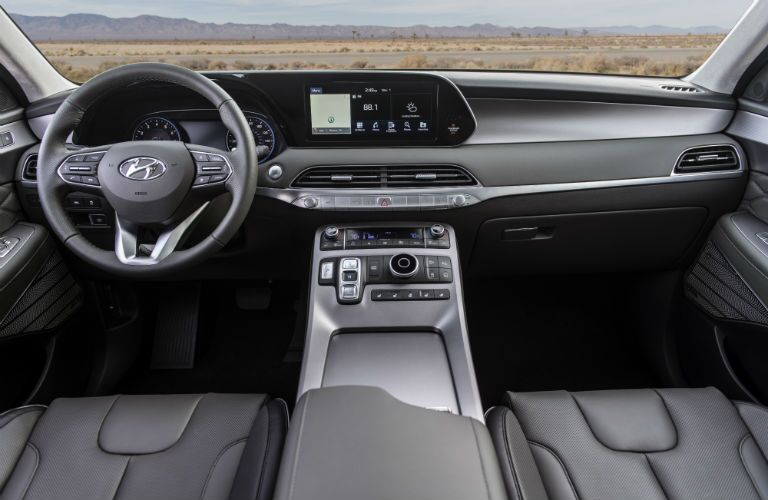 full interior of a 2020 Hyundai Palisade