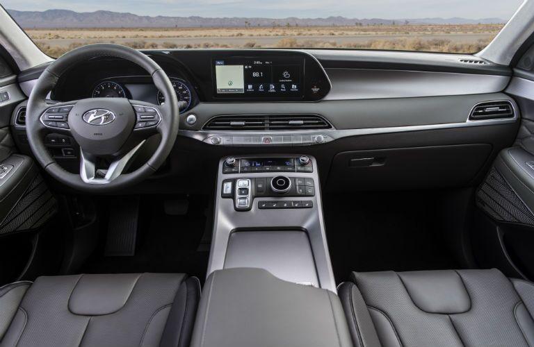 full interior of a 2020 Hyundai Palisade