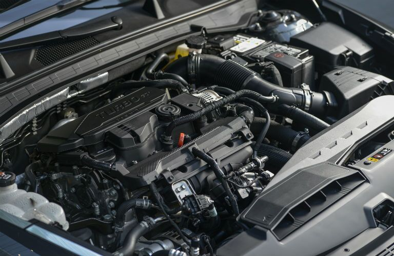 under the hood of a 2020 Hyundai Sonata