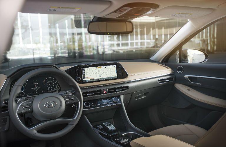 front interior of a 2020 Hyundai Sonata