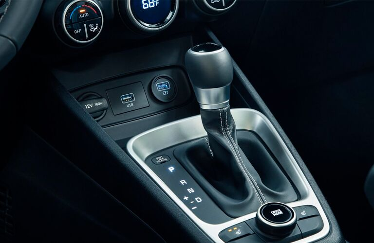 Gear shifter in 2021 Hyundai Venue