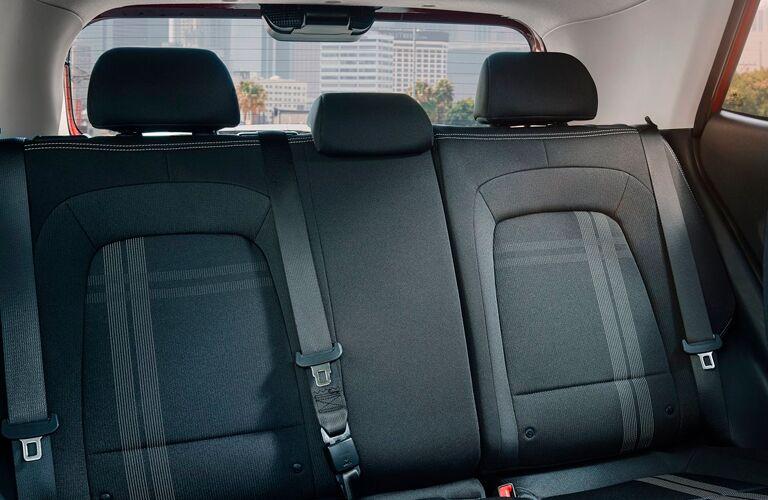 Back seat of a 2021 Hyundai Venue