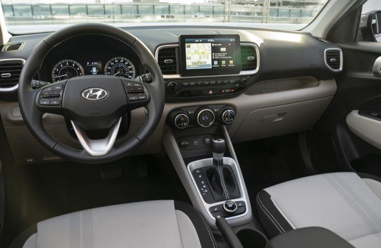 2021 Hyundai Venue dashboard