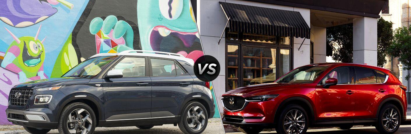 2021 Hyundai Venue vs 2021 Mazda CX-5