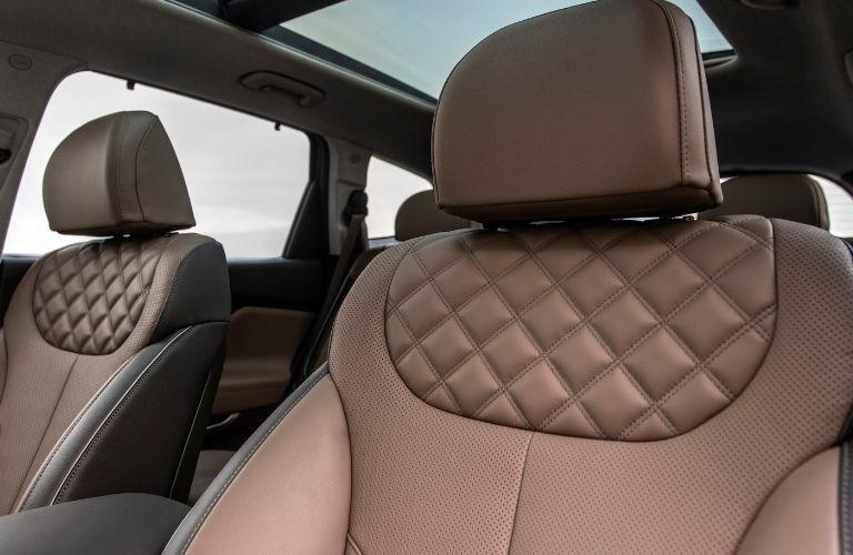 2022 Hyundai Santa Fe interior view