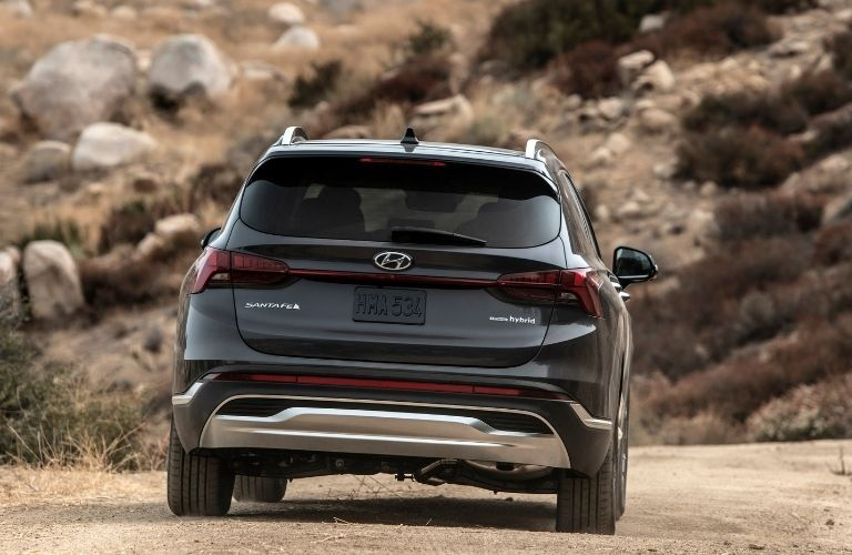 2022 Hyundai Santa Fe rear view