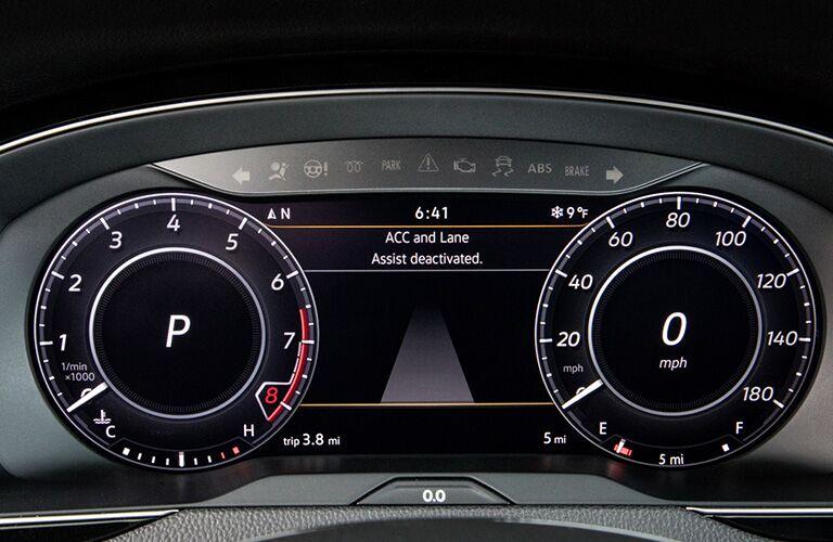 driver information display in a 2019 Volkswagen Arteon