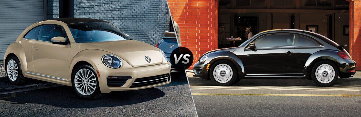 2019 Volkswagen Beetle vs 2019 Volkswagen Beetle Convertible