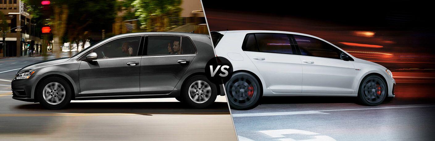 2019 VW Golf vs 2019 VW Golf GTI