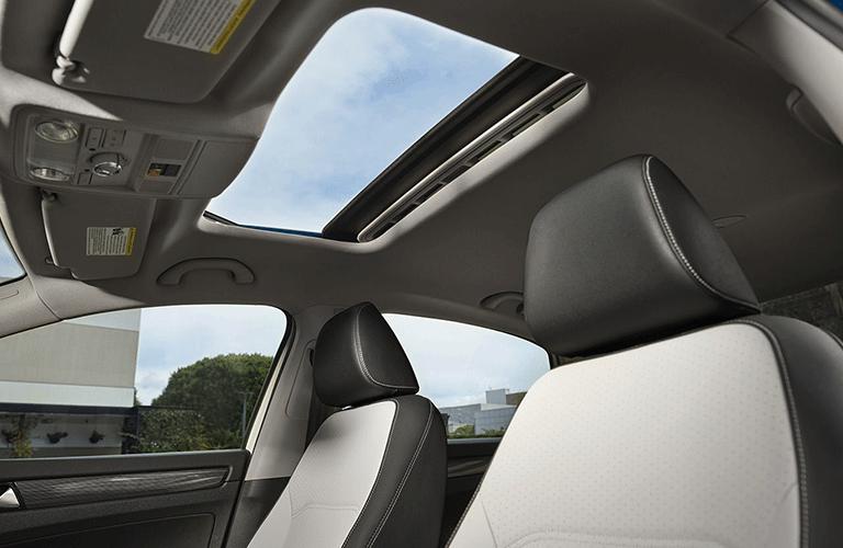 Sunroof inside 2021 Volkswagen Passat