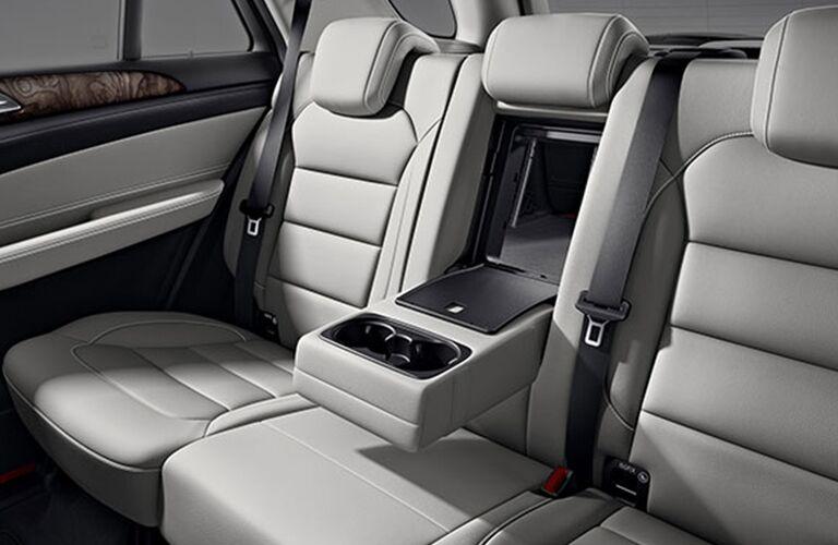 rear interior of a 2018 Mercedes-Benz GLE SUV