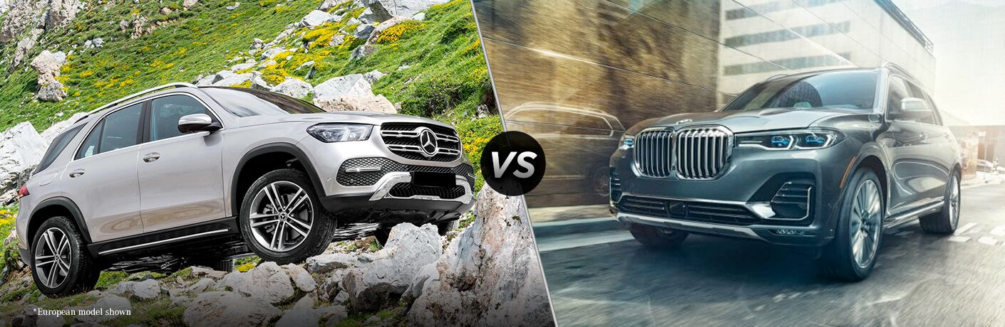 2019 Mercedes-Benz GLE vs 2019 BMW X7