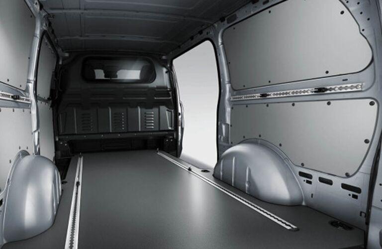 Rear region interior of a Mercedes-Benz Metris Cargo Van