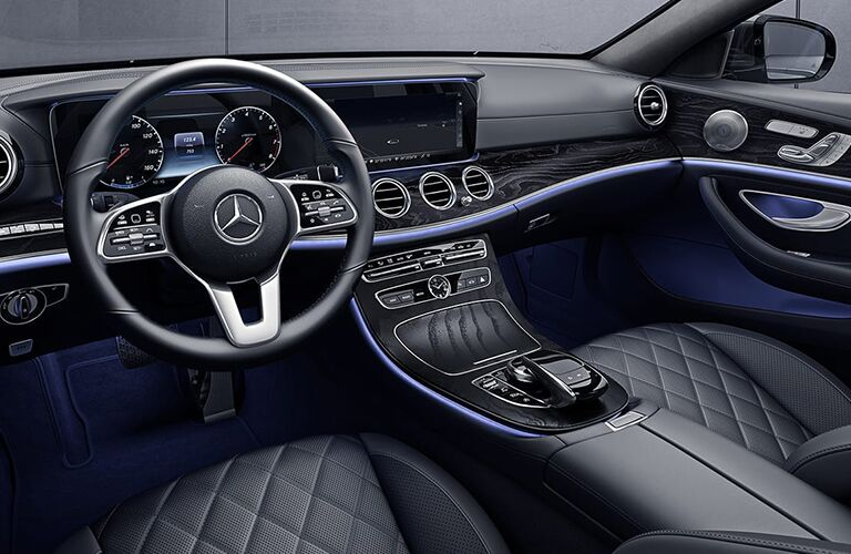front interior of a 2020 Mercedes-Benz E-Class Wagon