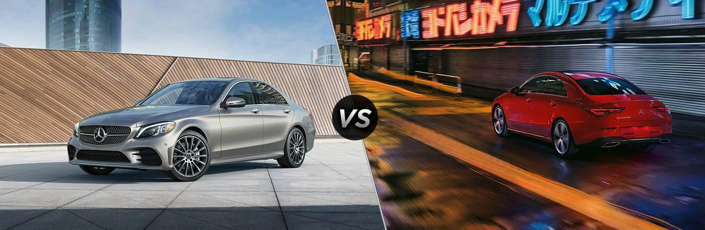 2020 Mercedes-Benz C-Class vs 2020 Mercedes-Benz CLA