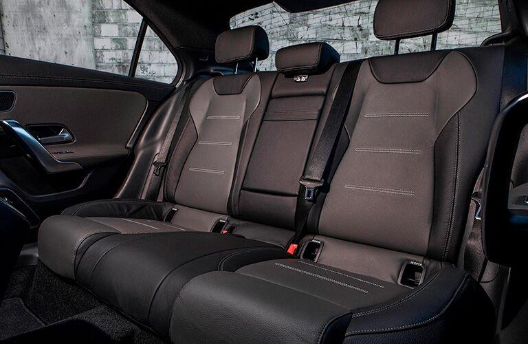 Rear seat inside 2021 Mercedes-Benz A-Class