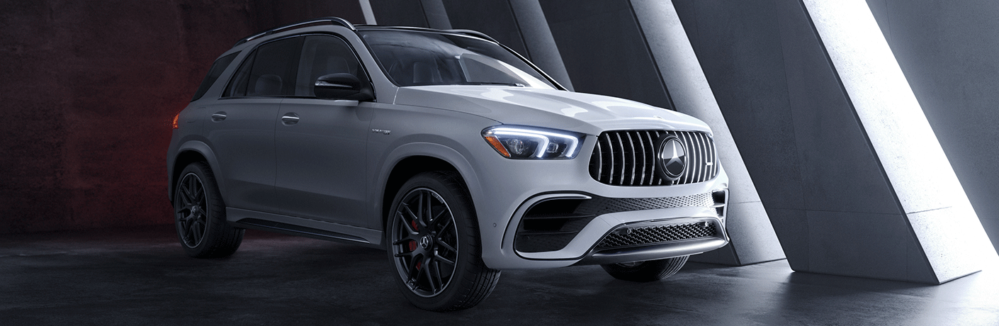 2021 Mercedes-AMG® GLE 63 exterior front/side view