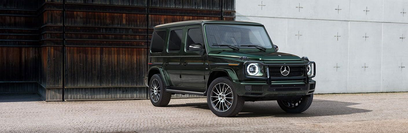 Front/side view of 2021 Mercedes-Benz G-Class