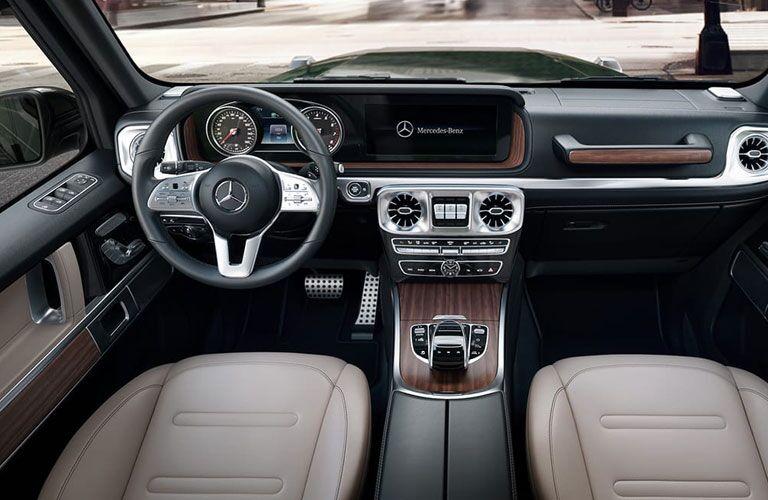 Cockpit of 2021 Mercedes-Benz G-Class
