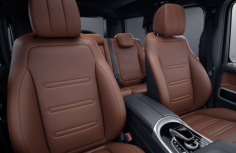 Interior of 2021 Mercedes-Benz G-Class