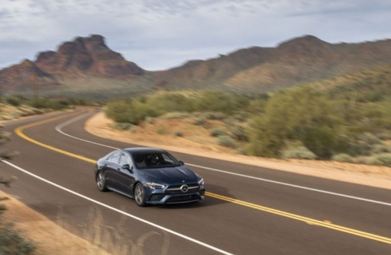 2021 Mercedes-Benz CLA 250 Coupe top view