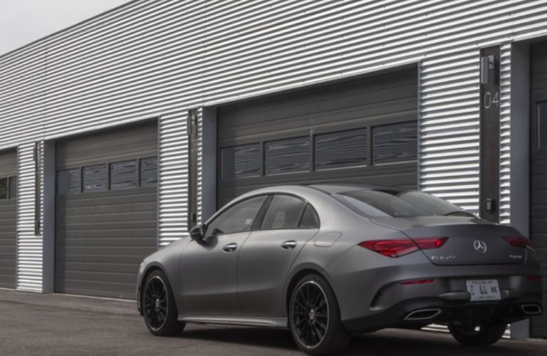 2021 Mercedes-Benz CLA 250 Coupe rear view