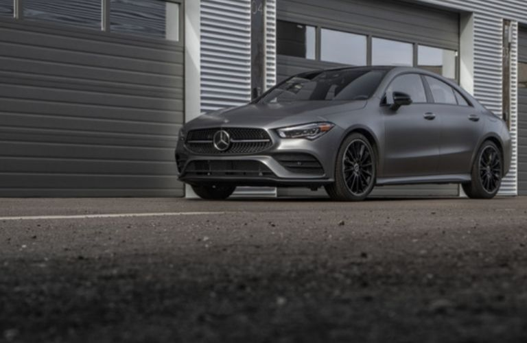 2021 Mercedes-Benz CLA 250 Coupe side view