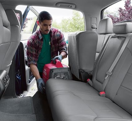 2018 Toyota Tundra Fold up rear seats