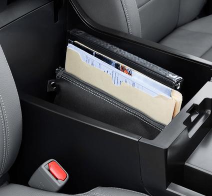 2018 Toyota Tundra center console