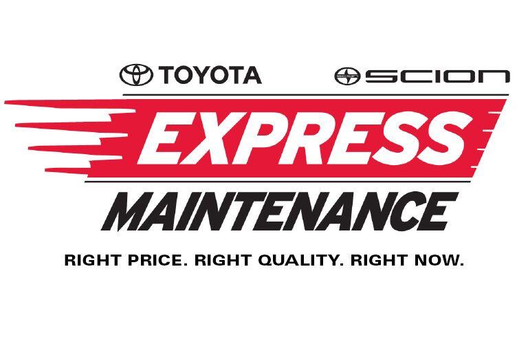 express-maintenance at Hansel Toyota