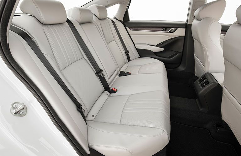 Rear Seat interior cutaway on the 2018 Honda Accord
