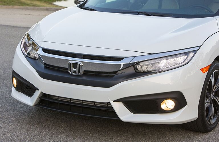2018 Honda Civic Touring close-up