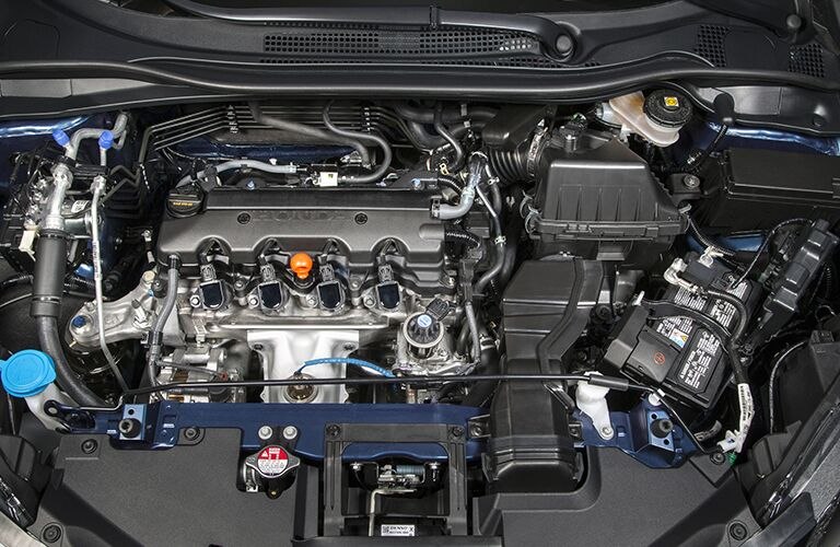 under the hood of the 2018 Honda HR-V