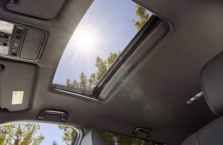 2019 Honda Passport sunroof