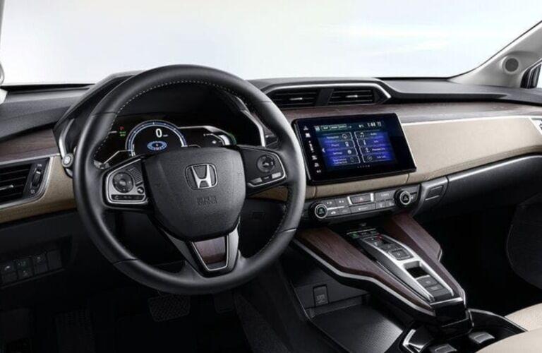 2019 Honda Clarity Plug-In Hybrid dashboard