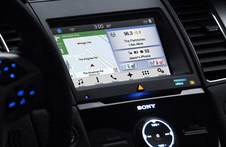 2018 Ford Taurus's touchscreen