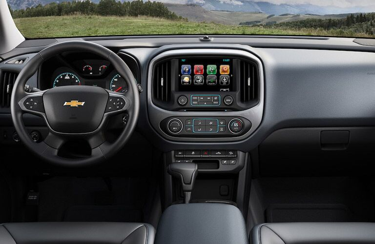 Dashboard of the 2018 Chevrolet Colorado