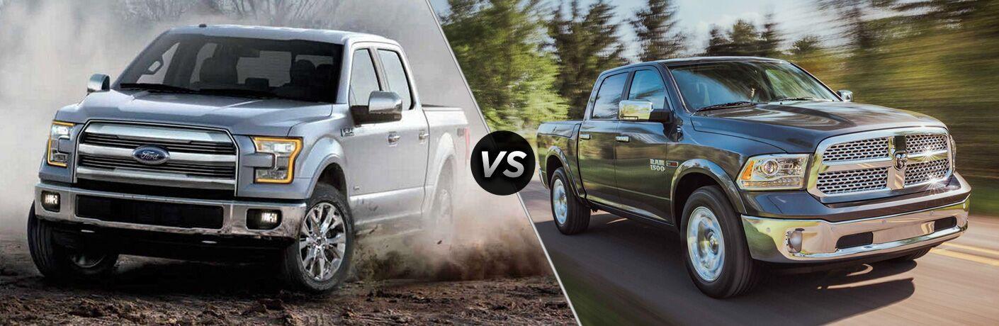 2018 Ford F-150 vs. 2018 RAM 1500