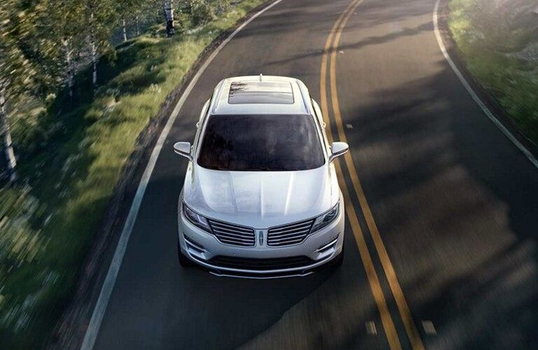 2018 Lincoln MKC driving down the road