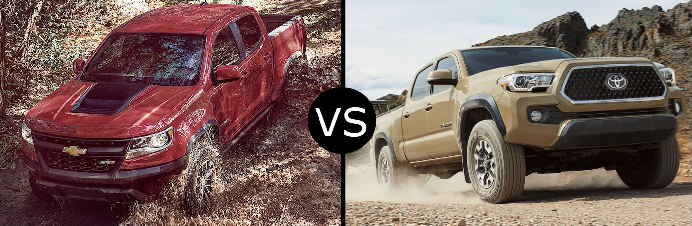 2018 Chevrolet Colorado vs. 2018 Toyota Tacoma