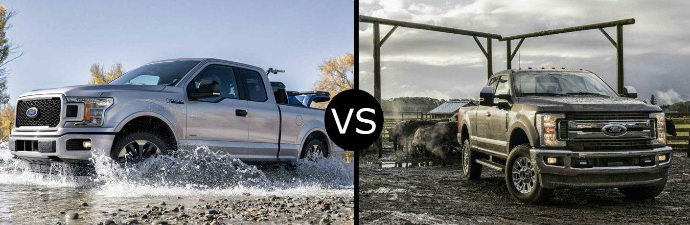 2018 Ford F-150 vs. F-250