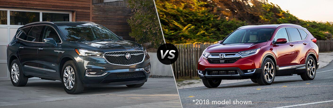2019 Buick Enclave vs 2019 Honda CR-V