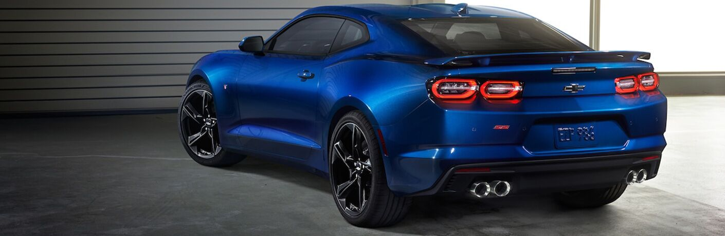 2019 Chevy Camaro exterior back fascia and drivers side
