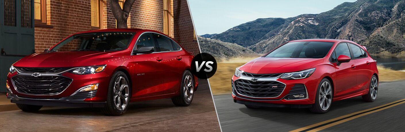 2019 Chevy Malibu Vs 2019 Chevy Cruze