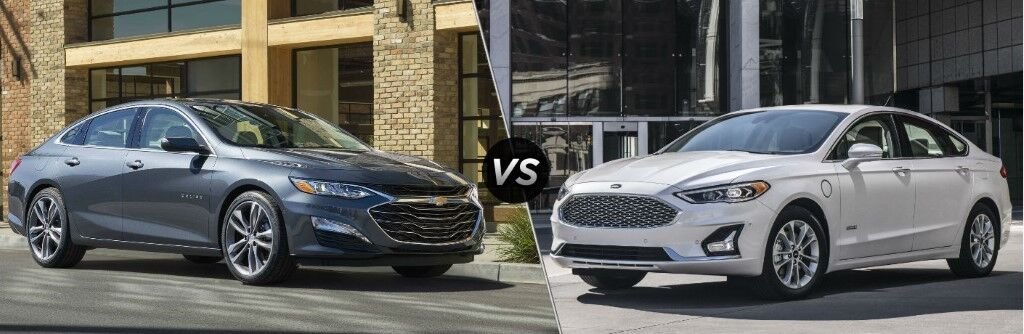 2019 Chevy Malibu vs 2019 Ford Fusion