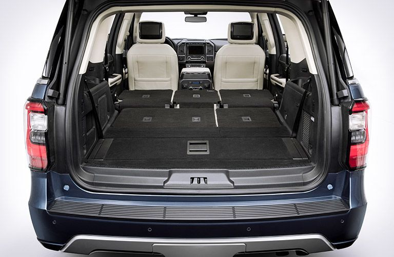 2019 Ford Expedition MAX rear cargo area