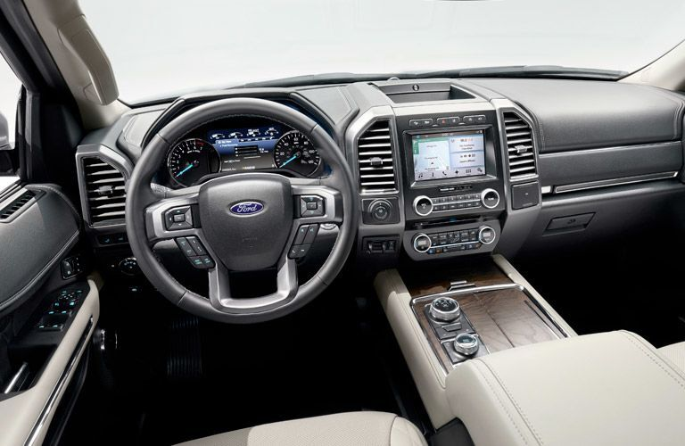 2019 Ford Expedition MAX dashboard and steering wheel